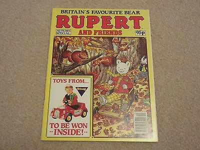 Rupert And Friends Comic, Autumn Special-1991Vgc