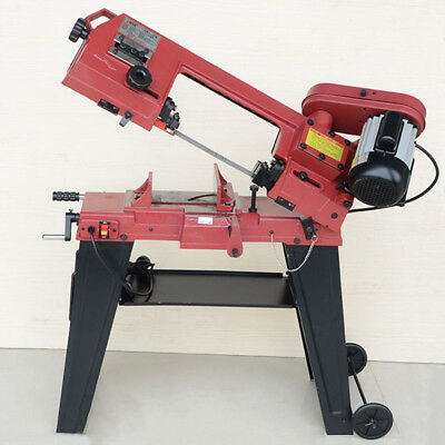 110V Horizontal/Vertical Band Saw Metal-Cutting Band Saw with Stand