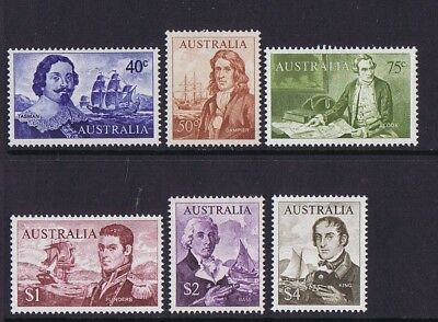 Australian Decimal Stamps 1966 Navigator Set 6 SUPERB Well Centred MNH GEMS!