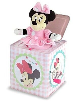NEW Disney Baby Minnie Mouse Jack in a Box Musical Toy *FREE SHIPPING*