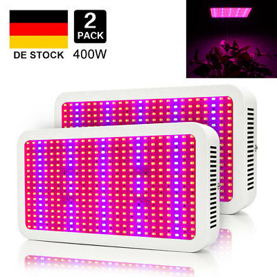 400W LED Grow Light Full Spectrum for Indoor with UV&IR Plants Veg   Hydroponic