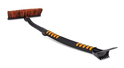 """Snow Moover Extendable 50"""" Car Brush and Ice Scraper with Foam Grip 