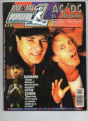 Popular 1 317 - Ac/dc Fishbone Little Steven Mike Ness L7 Tommy Lee - Mar 2000