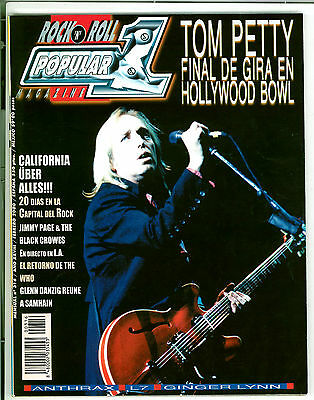 POPULAR 1 316 - TOM PETTY JIMMY PAGE THE WHO DANZIG GINGER LYNN - feb. 2000