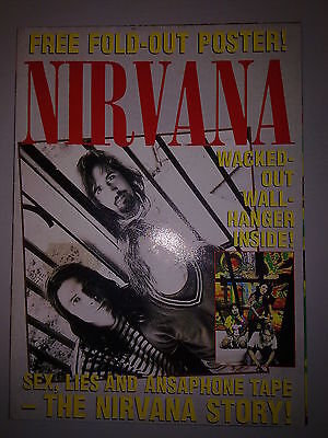 Nirvana - Fold-Out Poster The History - Uk - Rara Revista Poster