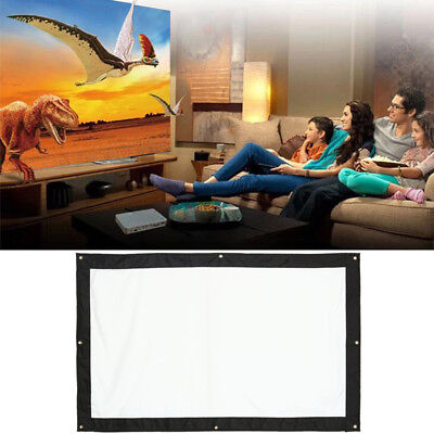Polyester 60/72inch Home Theater Waterproof Waterproofed Folded