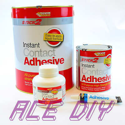 Stick 2 Contact Adhesive / Glue | Quick Multi Purpose High Strength Instant Bond