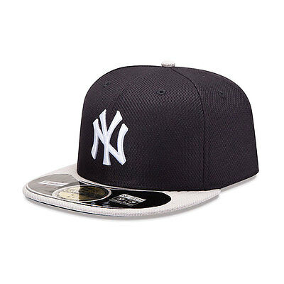 New York Yankees Officially Licenced Diamond New Era MLB 59FIFTY Fitted Cap