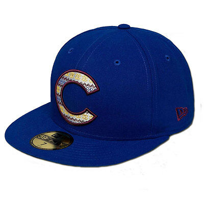 Chicago Cubs Team Filling Officially Licenced MLB New Era 59FIFTY Fitted Cap