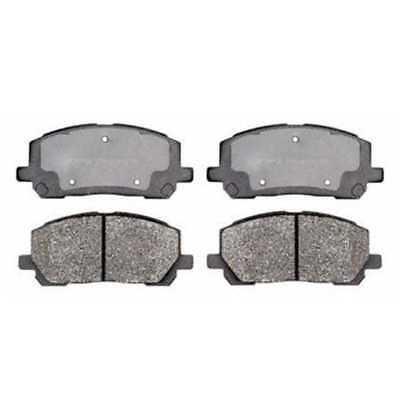 Set of Front Semi Metallic Brake Pads fits  Highlander With Lifetime Warranty