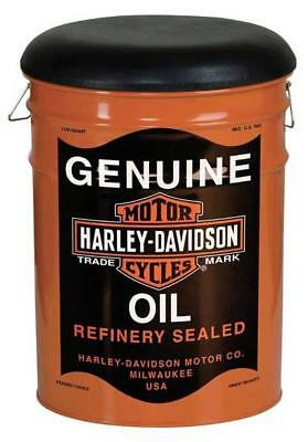 Harley-Davidson® Oil Can Bucket Stool   HDL-12131