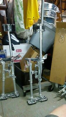 "Drywall Stilts Approximate  Adjustable to 40"" Pair Pre-Owned"