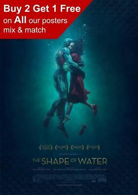 The Shape Of Water Movie Poster A5 A4 A3 A2 A1