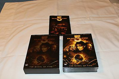 BABYLON 5 THE COMPLETE  FIFITH SEASON THE WHEEL OF FIRE  6 DVD Set