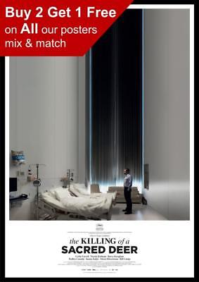 THE KILLING OF A SACRED DEER POSTER A4 A3 A2 A1 CINEMA MOVIE LARGE FORMAT