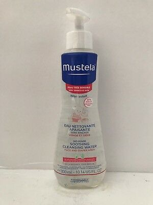 Mustela no rinse soothing cleaning water - EXP 04/2020 - 10.14 fl.oz