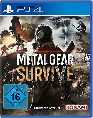 Metal Gear Survive DayOne-Edition | PS4 | NEU & OVP | UNCUT | Vorbestellung