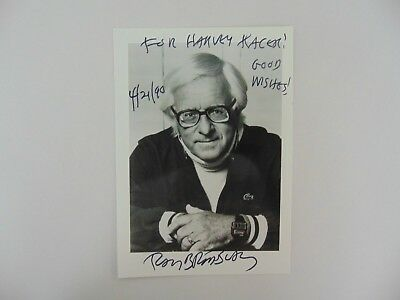 """Author"" Ray Bradbury Hand Signed 5X7 B&W Photo Todd Mueller COA"