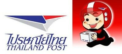 Tracking Number Fee shipping by ThailaPost Registered Airmail