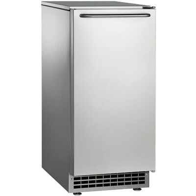 New Scotsman Undercounter Ice Maker, Gourmet Cube, Air Cooled, 65lb per day