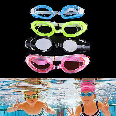 Kids Swimming Goggles Pool Beach Sea Swim Glasses Children Ear Plug Nose CliRAS