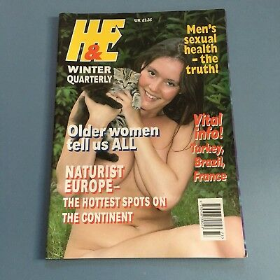 H & E nature winter quarterly Health & Efficiency magazine vintage
