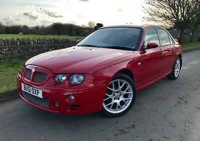 2001 Mg Zt 190 - Fsh 11 Stamps - Last Owner Since 2006 - 49000 Miles!