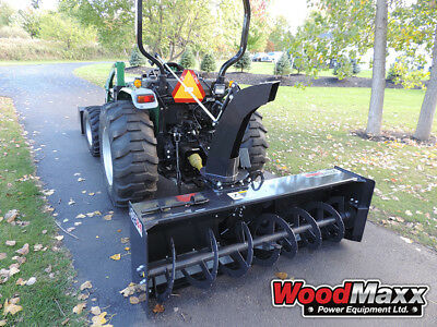 """WOODMAXX SB-84 PTO Snow Blower 84"""" (FREE SHIPPING to the lower 48 States)."""