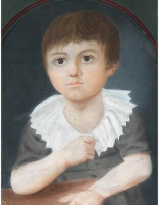 Fine  A Goetz Late 18th, early 19th C Antique Oil Portrait Painting c 1809