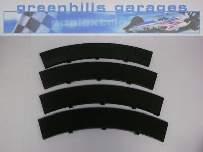 Greenhills Scalextric Classic Standard Curve Outer Border Black x 4 Used T41 ...