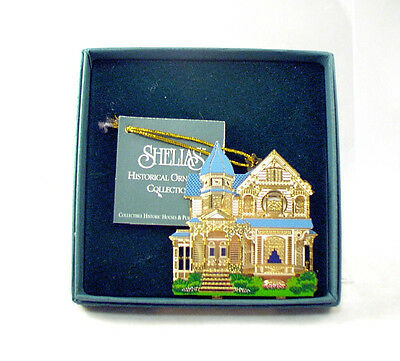 SHELIAS Christmas Ornament RILEY-CUTLER HOUSE Monmouth, Oregon 1892 Queen Anne