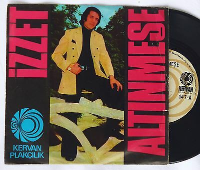"7""  IZZET ALTINMESE - Mamos / Esmer    turkish 45 Single"