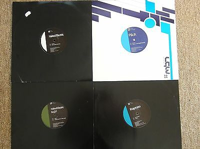** MBN Vinyl Pack ** Naked Electric, Kraymon, Pilch
