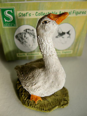 Goose - By Stef Ottevanger - Hand Painted & Made In England