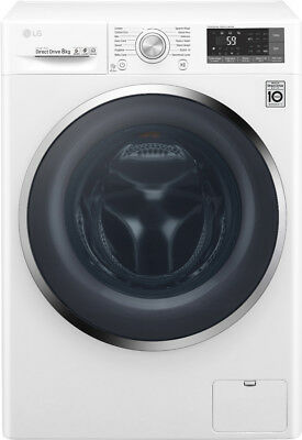 New LG - WD1408NCW - 8kg Front Load Washer