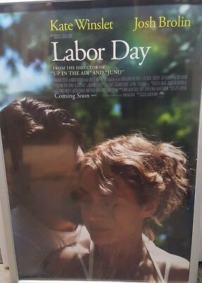 LABOR DAY Movie Theatre Poster promo 27x40 double sided Josh Brolin Kate Winslet