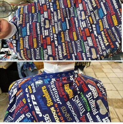 barber chair cloths... customize just about anything you can imagine