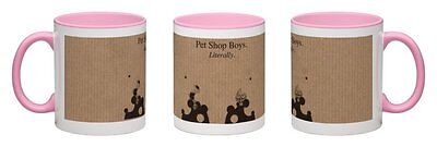 Pet Shop Boys - Literally [2016] Pink Coffee Mug ~ One-Off Exclusive ~ Hurry!