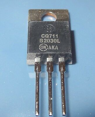 12 pcs MBR2030CTL 30V,  Dual Schottky Rectifier 20A total (10A per diode) 10B4-2