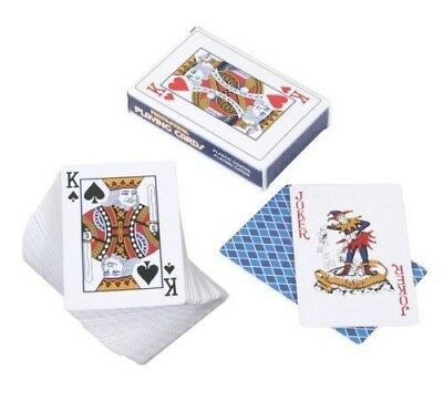 Plastic Coated Playing Cards by Henbrandt 52 Cards + Jokers