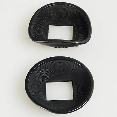 ^ Lot of 2 Vintage Canon Eyecup Eyepiece for AE-1, AE-1P, AT-1, AE1 Cameras 319