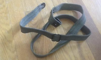 USGI WW2 .30 M1 CARBINE SLING and oil bottle C327