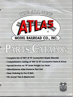 "ATLAS MODEL RAILROAD LOCOMOTIVE REPAIR MANUALS - ""HO"" and ""N"" SCALE DIESELS"
