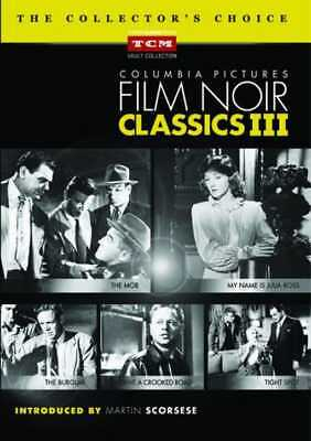 Columbia Pictures Film Noir Classics III DVD Collection (5-Disc)
