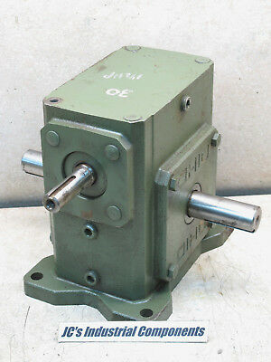 Ohio Gear,   30:1 Ratio,  Gear Reducer,  Shaft Drive,   1313 Inch Pounds,  U2262