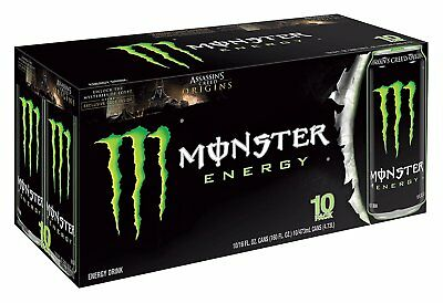 Monster Energy Drink, 16-Ounce Cans Pack of 24 - FREE SHIPPING Original Flavor