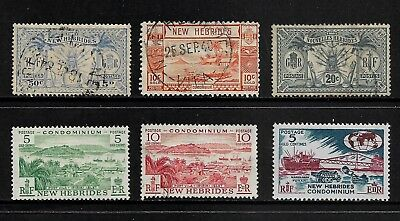 NEW HEBRIDES mixed collection No.3, 1911-1963, used & mint MH