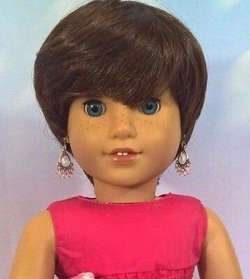 10-11 Custom Doll Wig fit Blythe-American Girl-1/4 Size Doll TEDDY BEAR bn1