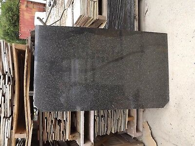 Stone slab polished hearth for fireplace 20mm thick 800mm x 1350mm Solid stone
