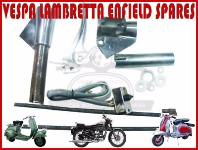 Lambretta  Li Polished Lever  Switch Gear Support Kit Series 2 @de